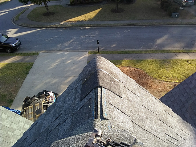 Roofing in Roswell done right