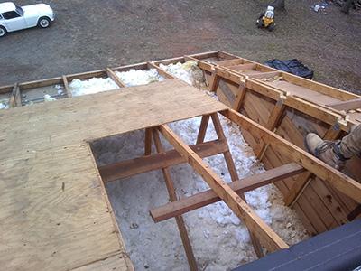 Replacing shingle roof in Cartersville Ga