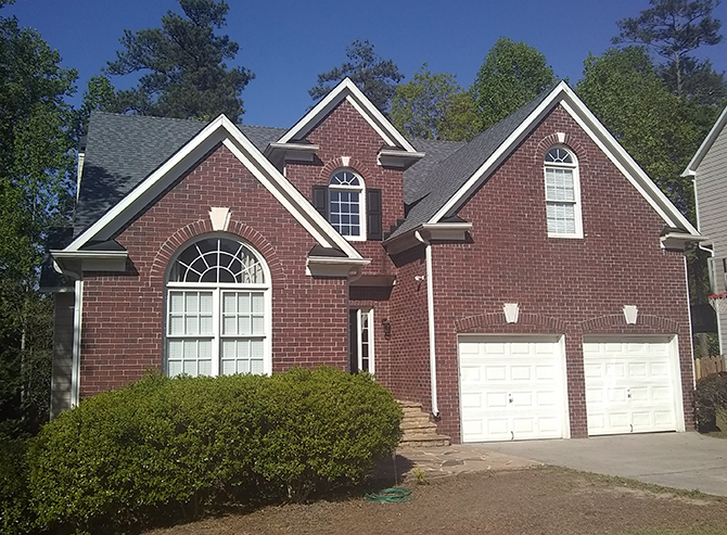 Another beautiful roof replacment installed by All Peaks Roofing in Roswell Georgia