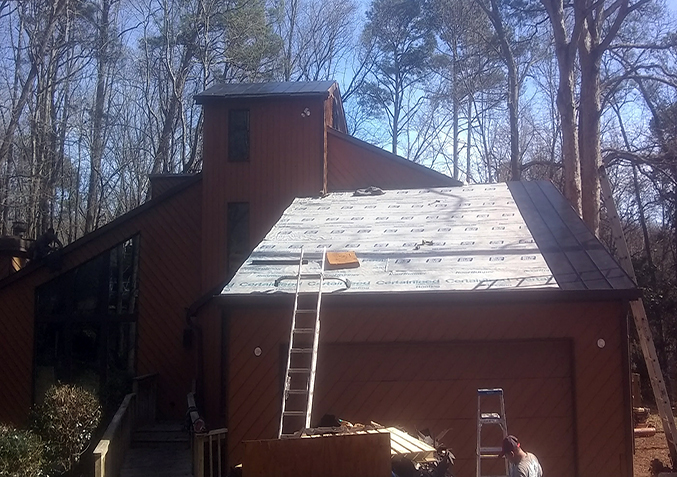 Metal Roof Installation in Roswell