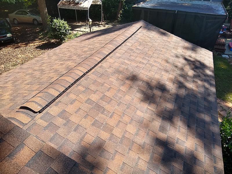 roof almost complete in woodstock georgia